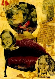 29- Greta Garbo. Collage..