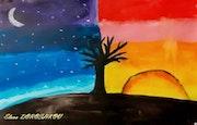 L'arbre du soleil et de la lune. Baloban Nadège