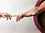 La main d'Adam.