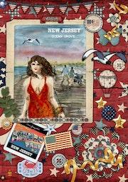 «La promenade» New Jersey Ocean Grove 11.