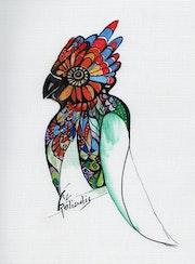 Oiseau du paradis. Relindis