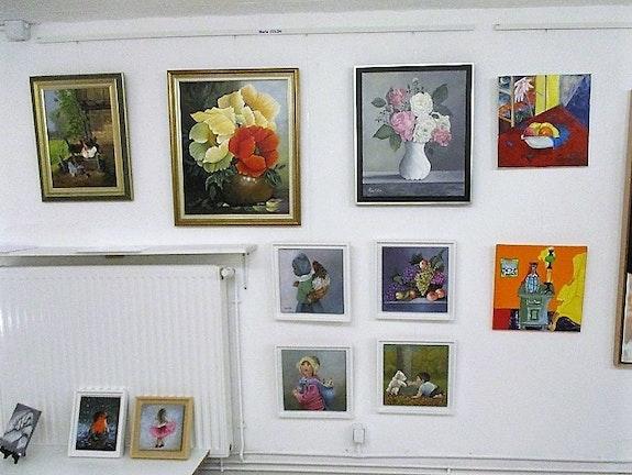 Vue générale de la galerie Margot à Payrac (Lot-France). Margot Galerie-Margot. Fr