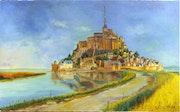 Mont Saint-Michel. Adina Lupan