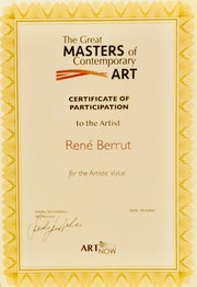 Prix The Great Masters of Contemporary art 2020.