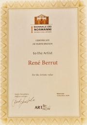 Distinction Biennale de Normanni 2020.