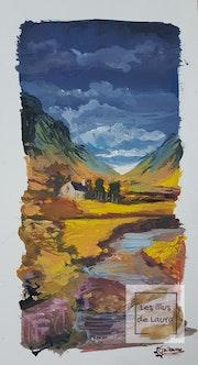 Essai paysage nordique. Laura Guillaume