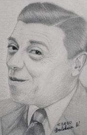 Portrait Fernandel.