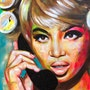 Naomi Campbell by Naydene Gonnella. Art At The Ridge (Antigua & Barbuda)
