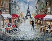 Tour Eiffel. Cath