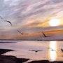Au Lac du Der. Adyne Gohy