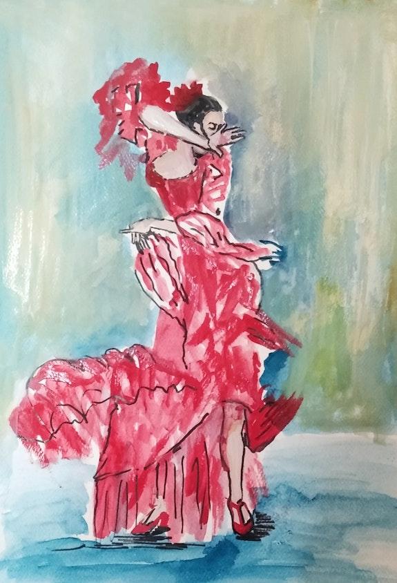 Flamenca. Ana Dorcu Ana Dorcu