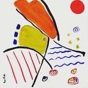 Soleil rouge -Série les ensoleillés -. Leila Assmann