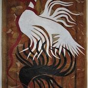 La colombe et le serpent (ou quand un serpent étouffe la liberté). Bertrand Lamouroux