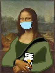 Mona Lisa Pandemia. Colegio Isaac Rabin
