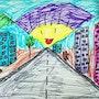 Sunshine Road. Arte Isaac Rabin