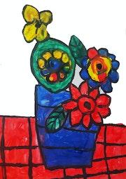 Flowers. Arte Isaac Rabin