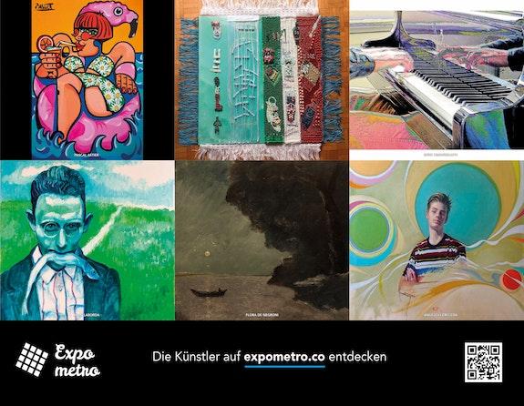 Poster 11 - Expo Metro Berlin 2020.  Artquid Team