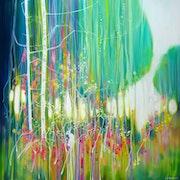 White Hares Garden. Gill Bustamante - Artist
