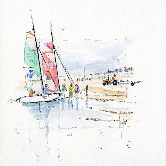 Or2020-17-cour de catamaran. Moulin Denis Denis Moulin