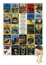 Tintin et la couverture mystérieuse. Jérôme Jacob