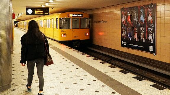 Urban Art Photography Expo Metro Berlin 2020 U-Bahn Zoologischer Garten.  Artquid Team