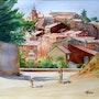 Roussillon en Provence.