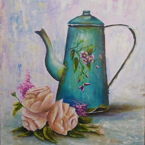 Old flouers. Mari Kverckhishvili Shazina Mikheidze