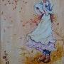 Girl on te auntamen. Shazina Mikheidze