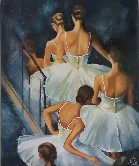 Les danseuse. Nelly Larue Nelly Larue