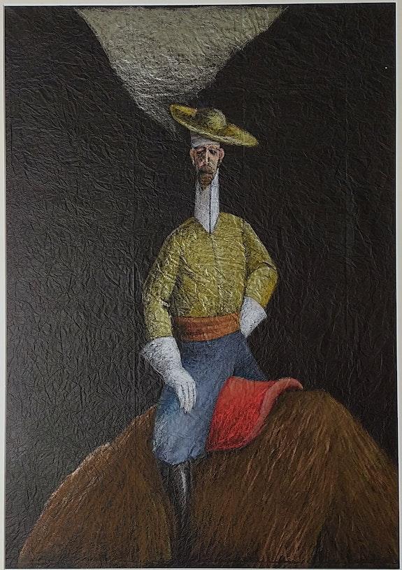 Don Quichotte sur une bête sauvage.  Bova