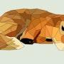 Resting fox. Colegio Isaac Rabin