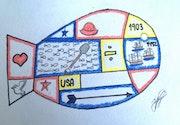 El pez. Colegio Isaac Rabin