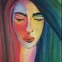 Colorful face. Sara Asgari Alem