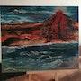 Erruption entre ciel et mer. Sylviane Rolland