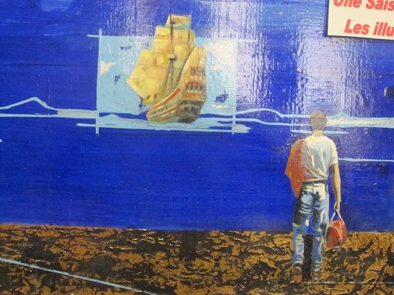 Départ vers le Harrar. Jackie-Martia Laurent Peintre