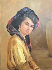 Kurdish girl. Marjan Azarmir