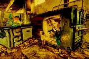 3- Arcilla y Agua. «Abandonados»..