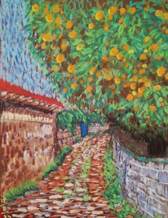 Orange tree. Sara Mofidi Sara Mofidi