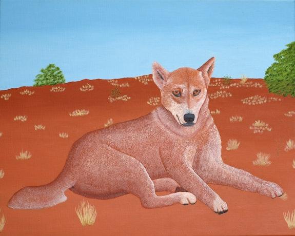 Magnificent Dingo. Brian Leverton Brian L Art