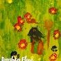 Une prairie fleurie. Baloban Nadège