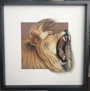 Roaring Lion - Lion Rugissant. Reg'art De Vie