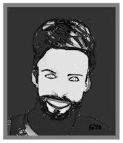 Portrait version 2020. Flávio Do Nascimento