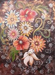 Fleures magique. Laura Tanopoulos
