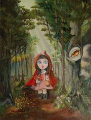 Little Red Riding Hood. Viviana Fedra Bonfil