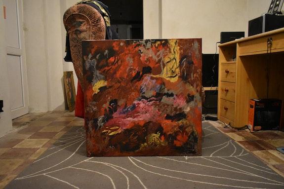Abstraite couleur mélangé. Joky Kamo Joky Kamo