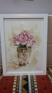 Stone vase. Sara Ashouri