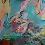 Les poissons koï. Pascale Stephan