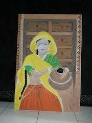La féminité de l'inde. Layoub