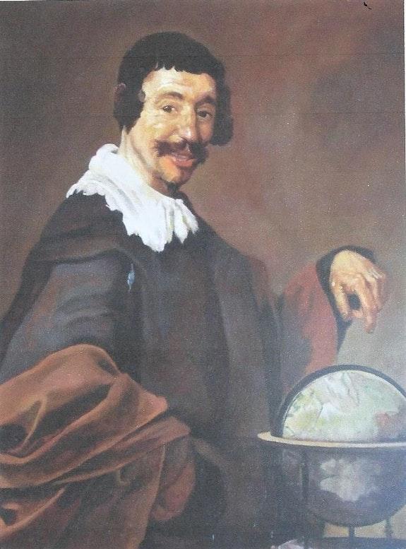 El Geógrafo (reproducción de Velazquez). Sebas Sebas