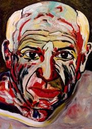 29- Picasso a los 73 años. Picasso.. Carmen Luna